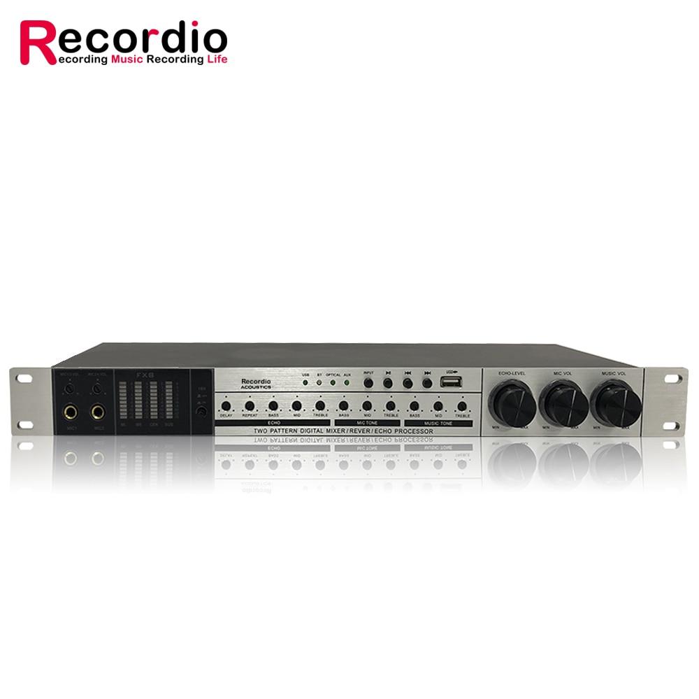 GAX-9FX Digital Preamp Effect KTV Sound Mixer professional Audio Processor enlarge