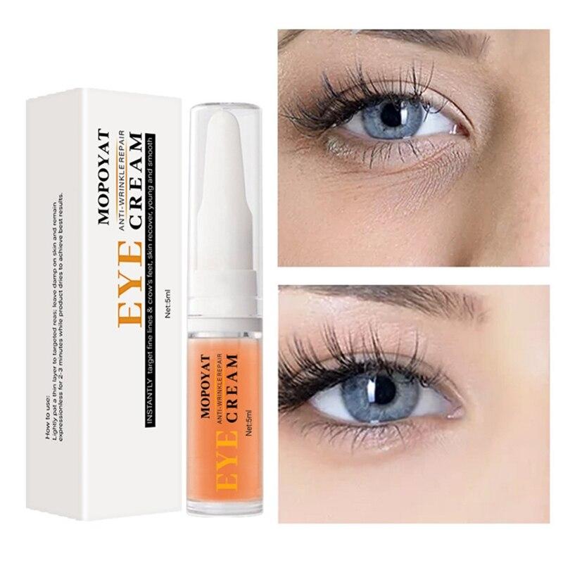 5ml Natural Active Eye Cream Remove Eye Bags Dark Circles Long-lasting Moisturizing Anti-drying Anti-aging Eye Essence