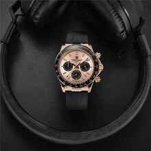 PAGANI DESIGN Top Brand 40mm Men's Sports Chronograph Luxury Fashion Multifunctional Quartz Waterpro