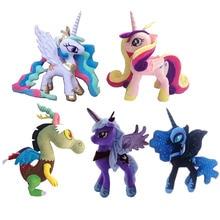 Mon petit poney jouet arc-en-ciel licorne cheval jouet Pegasus peluche jouets cadeaux pour filles 40cm Anime Figure jouets pour enfants