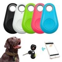 Умный GPS-трекер для домашних животных, водонепроницаемый мини-трекер для потери, Bluetooth-локатор, трекер для домашних животных, кошек, детей, ав...