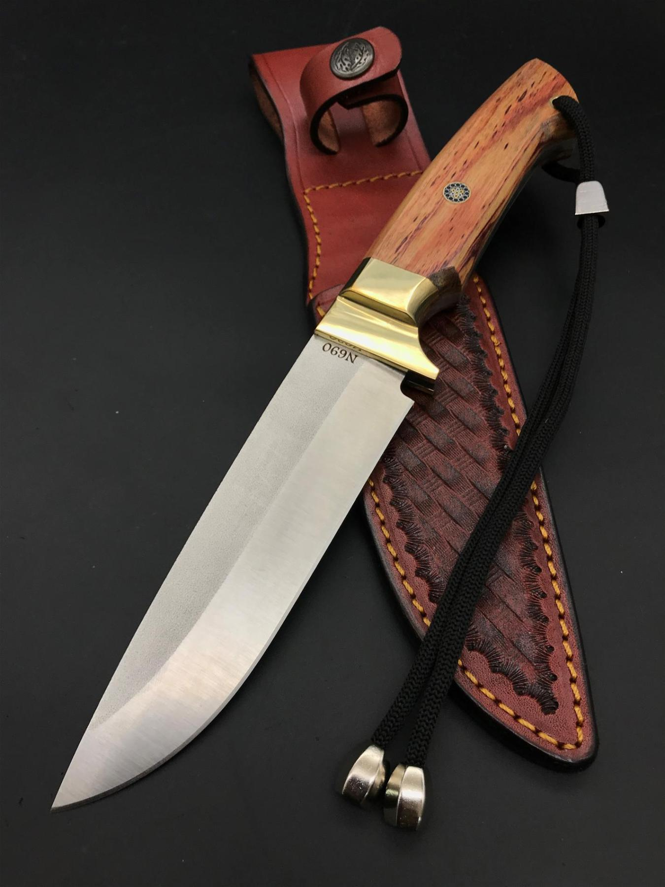 BOHLER N690 Bushcraft Camping Knife BB106-3
