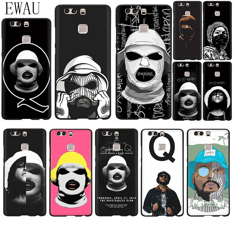 EWAU-funda de silicona suave para teléfono móvil, carcasa para Huawei P8, P9,...