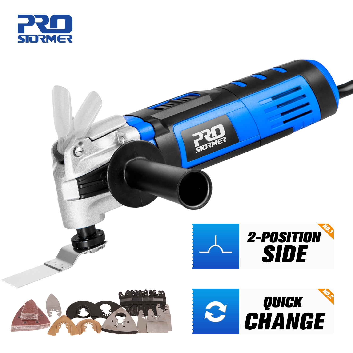 Multifunction Tool Oscillating Multi-Tools Variable Speed Renovator Electric Home Decoration Trimmer