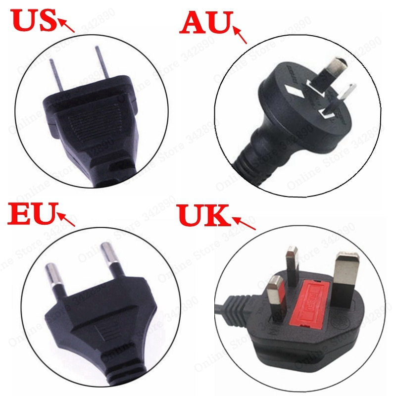12.6V 5A battery charger fast charge 18650 lithium ion 3 series 12V lithium battery pack high quality charger  EU/US/AU/UK Plug