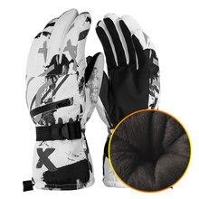 PHMAX hiver gants thermique polaire gants de Ski hommes femmes coupe-vent Snowboard gants étanche écran tactile Ski patinage gants