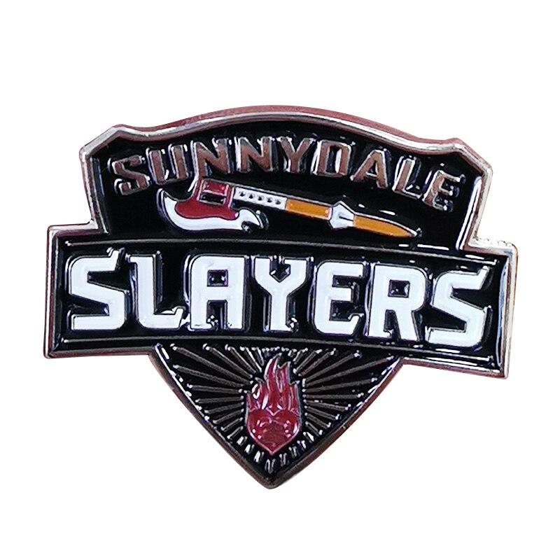 Insignia de slayers de Sunnydale, una necesidad de tener para cualquier ventilador de Buffy