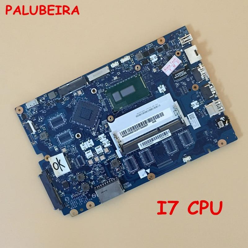 Placa base para Lenovo Ideapad 100-15IBD 100-15IBY Laptop motherboard CG410 CG510 NM-A681 con I7 CPU