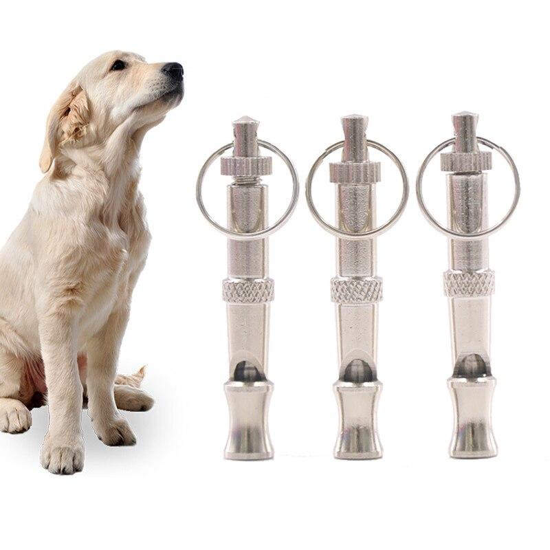Aapet 2pcs Pet Whistle Portable Dog Training Whistle Clicker Pet Trainer Aid Guide Dog Anti Bark Whistle Bark Deterrents For Pet