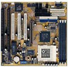 100% OK Original 586 IPC carte mère GA-5AA carte mère industrielle avec prise 7 CPU VGA 3 * PCI 2 * ISA carte IPC