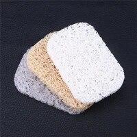 Tapis de savon en PVC antiderapant  egouttoir creatif  resistant a la moisissure  Gadget de salle de bains  eponge
