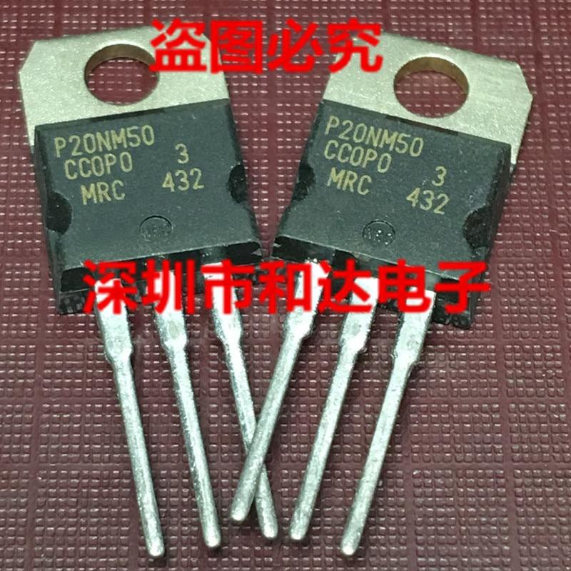 10 uds/20 piezas uds/P20NM50 STP20NM50-220 500V 20A