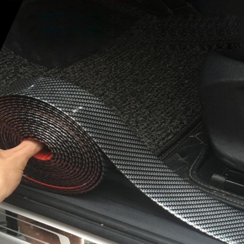 Auto DIY Einstiegsleisten Rand Schutz Aufkleber für Toyota Camry Corolla RAV4 Yaris Auris Corolla Avensis Verso Yaris Aygo tundra