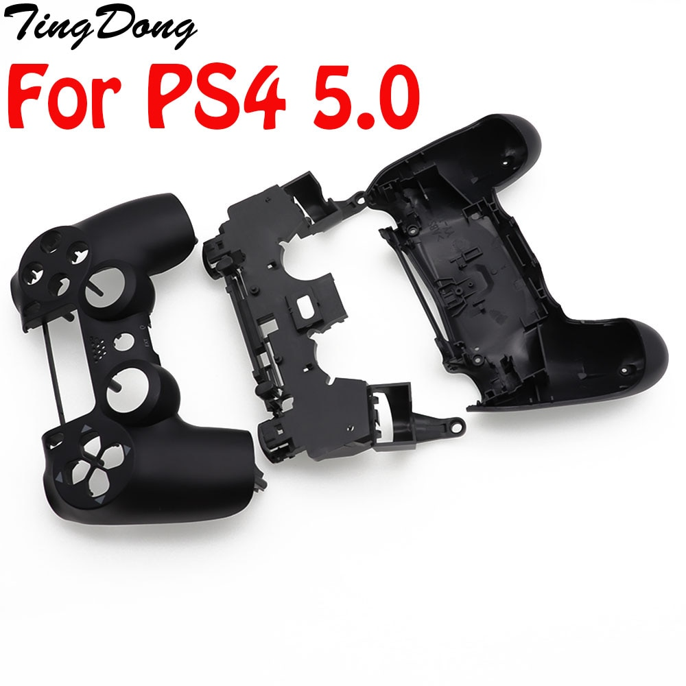 High Quality DIY Full Shell Case Housing For PS4 Slim Version 5.0 Controller Replacement Parts Joystick JDS-050 JDS 055 JDM 050