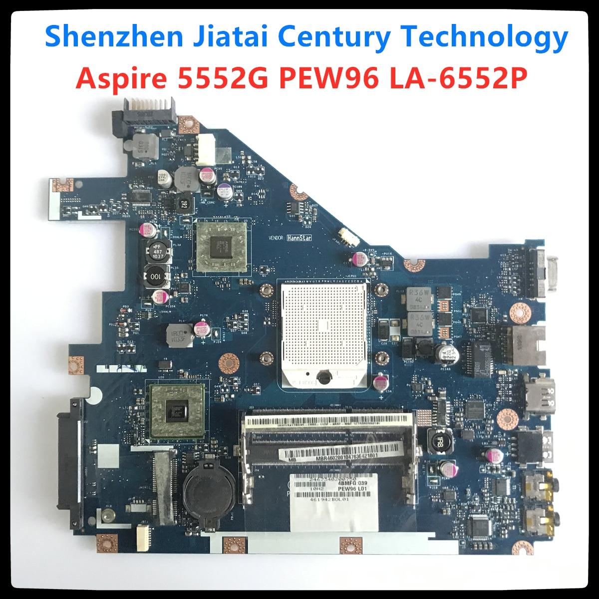 PEW96 LA-6552P NV50A Fit Voor Acer 5552 5552G Laptop Moederbord MBR4602001 Emachines E442 E642 Moederbord Volledig Getest Werken