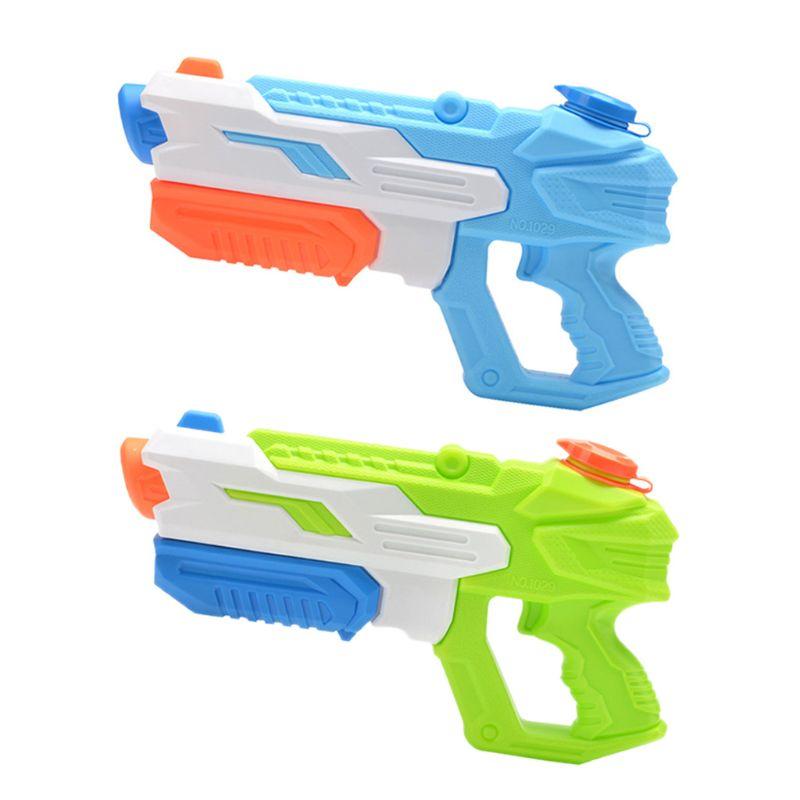 Pistolas de agua de largo alcance, juguetes de agua de gran capacidad para verano, pistola de agua súper absorbente, juguete de playa para baño de niños, herramienta de Festival para salpicaduras de agua