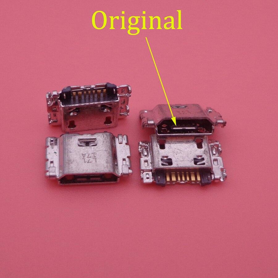 20pcs/lot Micro USB Charging Port Jack Connector For Samsung J5 SM-J500 J1 SM-J100 J100 J500 J5008 J500F J7 J700 J700F J7008