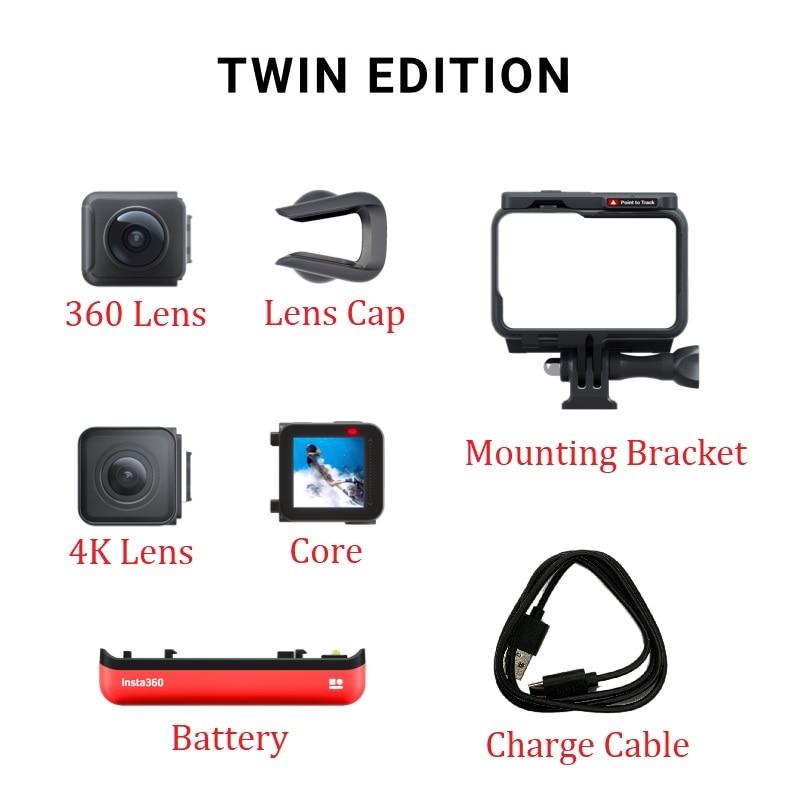 Insta360 ONE R Insta 360 4K 5.7K Action Camera Twin Edition