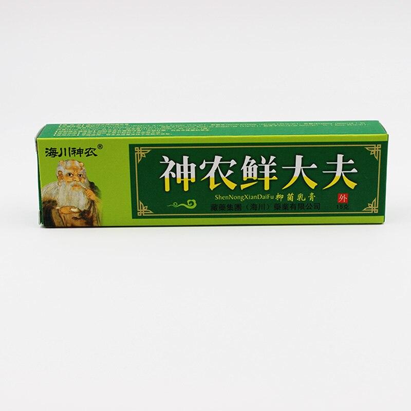 Купить с кэшбэком New Arrival Natural Chinese Medicine Herbal Anti Bacteria Cream Psoriasis Eczema Ointment Treatment High Quality Herbal Cream
