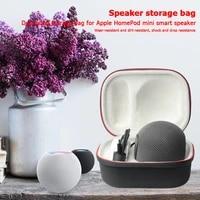 Haut-parleur antichoc boite de transport accessoires decoute de musique en plein air pour Apple HomePod Mini etui de protection de stockage