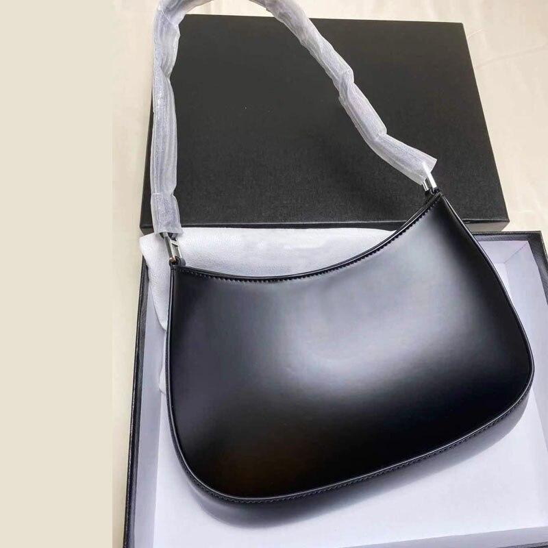 2021 newlady كليو العلامة التجارية الفاخرة مشرق جلد كتف واحد المحمولة المرأة حقيبة تحت الإبط