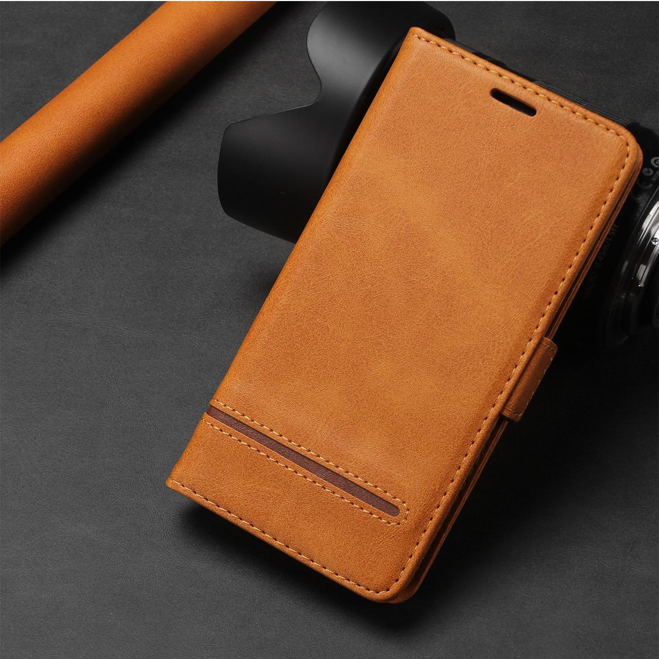 Caso de couro magnético para o iphone 11 pro xs max xr 7 8 6 s mais se 2020 luxo carteira flip cartão suporte do telefone sacos cobrir