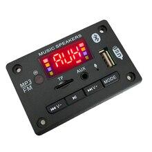 wholesale MP3 Player Decoder Hands-free Board 5V 12V Bluetooth 5.0 Car FM Radio Module Support FM TF