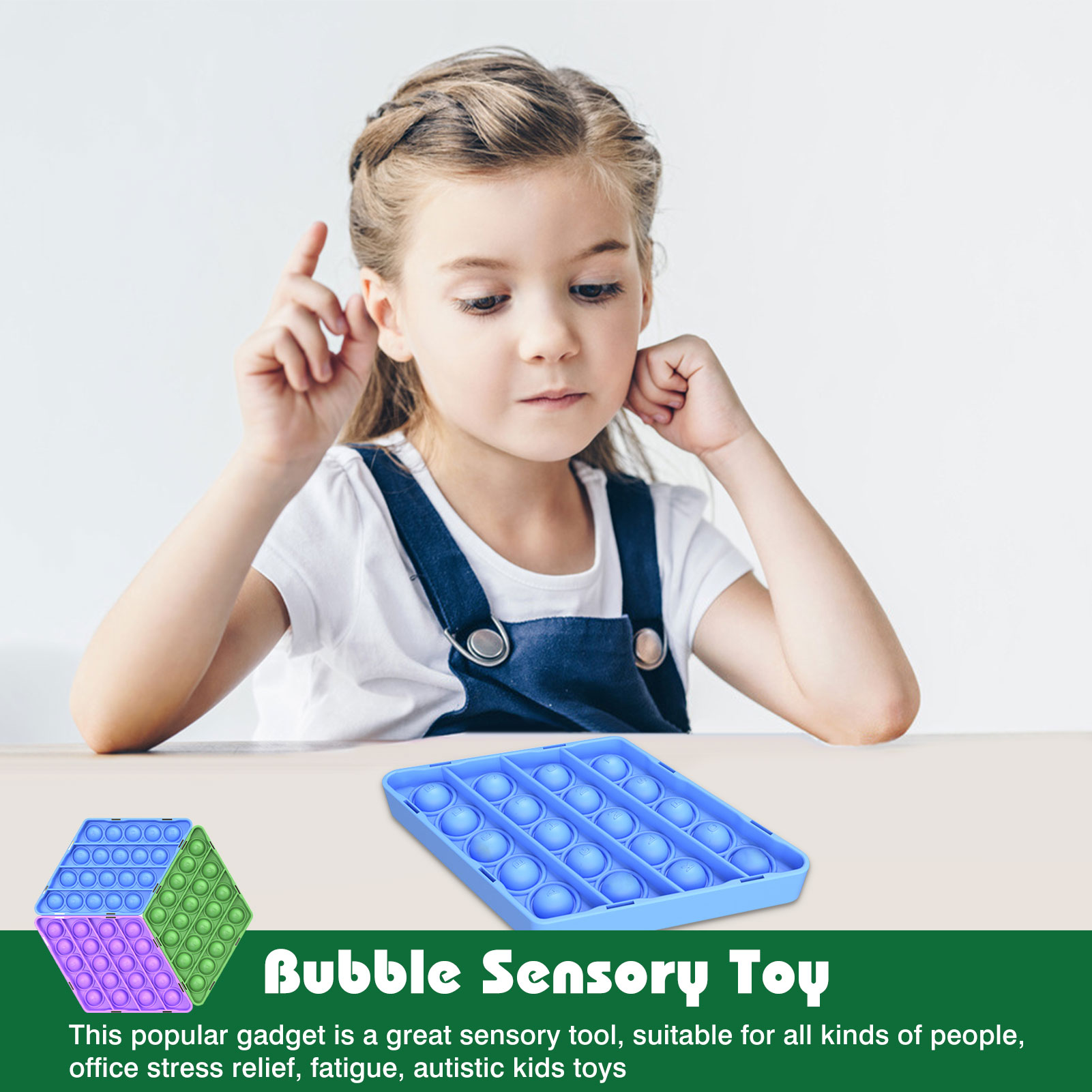 Squeeze Bubble Sensory Toy Autism Needs Squishy Stress Reliever Toys Adult Kid Funny Anti-stress Toys Desktop Educational Toy enlarge