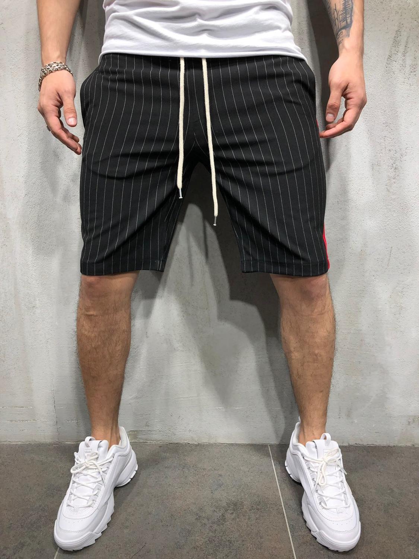 Męskie krótkie spodnie pół letnie szorty plażowe solidna oddychająca modna bawełniana Casual Men Pantalones na zewnątrz miękkie szorty M-XXXL