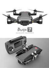 Bugs 7 GPS Drone 4K 5G WIFI cámara HD Motor sin escobillas FPV Quadcopter Dron plegable Rc helicóptero B7 Drones con cámara