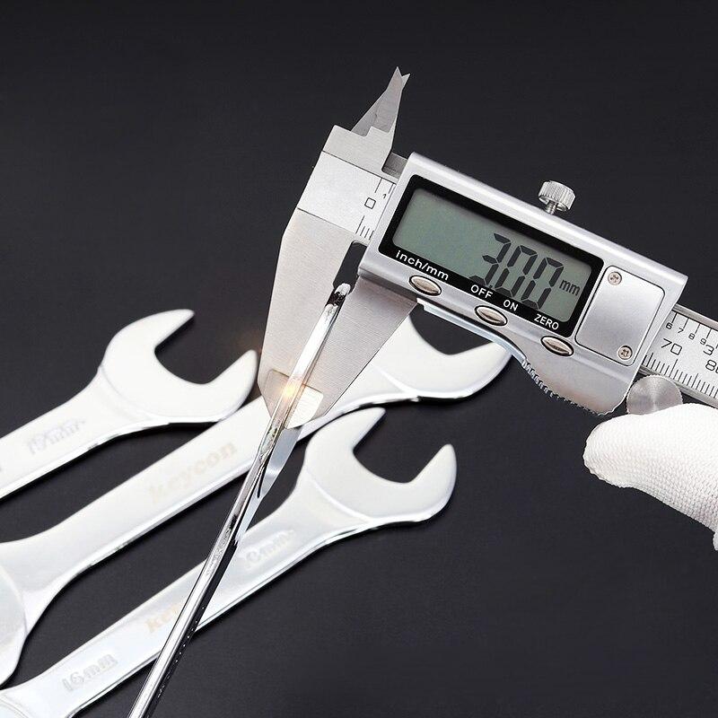 1 шт. 6*7-30*32 мм ультратонкий открытый торцевой ключ 3 мм двойной торцевой универсальный гаечный ключ высокоуглеродистые стальные гаечные ключи для приводного вала
