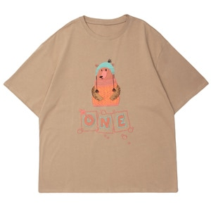 LACIBLE Mens Hip Hop T-Shirt Streetwear Polar Bear Embroidery Harajuku Tshirts Loose Cotton Short Sleeve 2021 Summer Casual