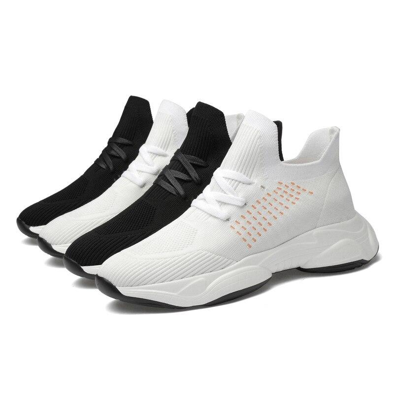 جديد غير مرئية الداخلية زيادة 10 سنتيمتر أحذية مصعد الأحذية الاتجاه الكورية الرجال الاحذية الرياضية في الهواء الطلق حذاء كاجوال حذاء تنفس