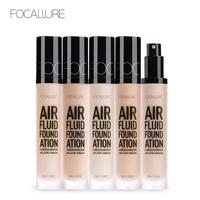 focallure new air fluid foundation moisturizing natural foundation base long lasting waterproof women makeup