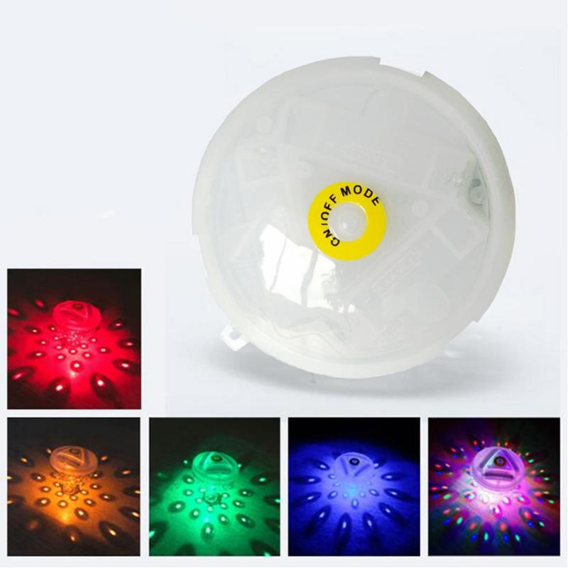 luz led subaquatica flutuante lampada decorativa colorida a prova dagua para piscina