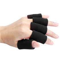 Stretch Basketball Finger Sleeves Guard Support Outdoor Sports Finger Protector Cover Aid Arthritis