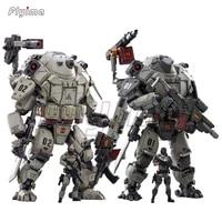 125 joytoy action figure 2pcsset iron wrecker 01 assault mecha 22cm model toy series free shipping
