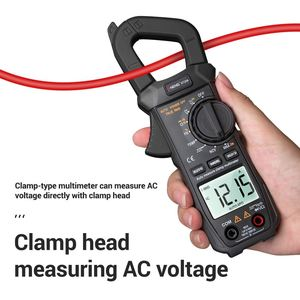 Voltage Meter Tester ST209 Digital Multimeter Clamp Meter True RMS DC/AC Current Clamp Tester Meters Voltmeter Auto Range