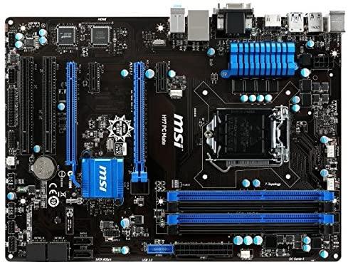 ل MSI H97 الكمبيوتر ماتي سطح المكتب اللوحة الرئيسية إنتل LGA1150 H97 DDR3 ATX اللوحة الأم