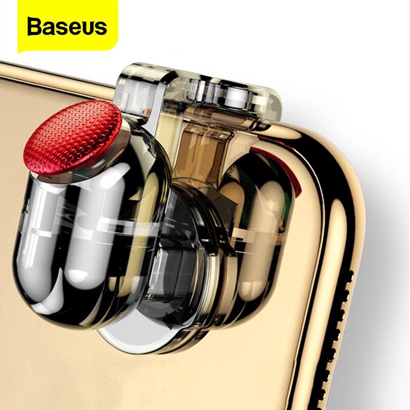 Baseus Gamepad Joystick For PUBG Joypad Trigger Fire Button Aim L1 R1 Key L1R1 Shooter Controller Fo
