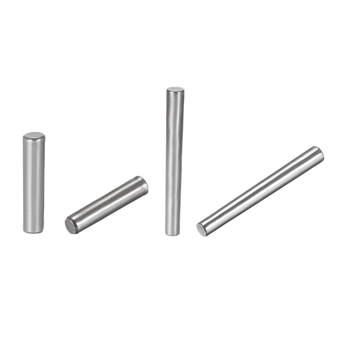uxcell 10Pcs M3 M4 M5 M6 M8 M10 Small End Diameter Carbon Steel Dowel Pins 20mm-50mm Length 1:50 Taper Pin