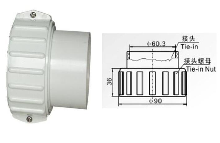 2 بوصة 90-60.3 مللي متر حوض الاستحمام سخان صالح HW02 LX H20-R1 كبير كبير H30-R1 ethinkسخان