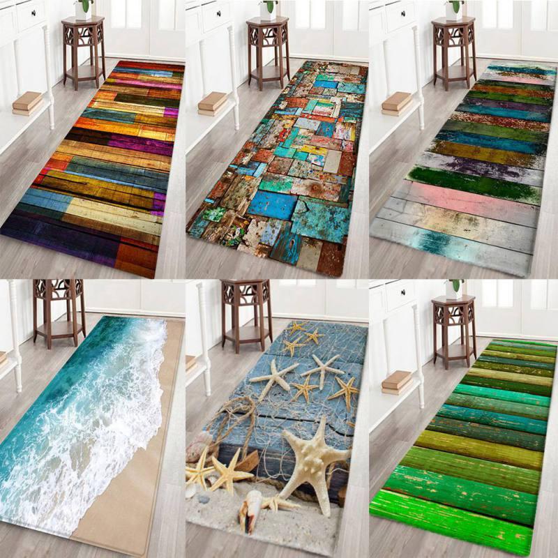 3d impressão corredor tapetes flor peixe quarto sala de estar mesa chá tapetes do banheiro antiderrapante
