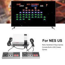 Jogo console hit cor retro portátil handheld máquina de jogo embutido 620 jogos apto para nintend switch para criança venda quente