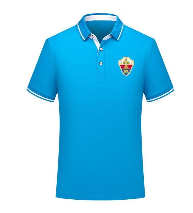 2021 real Elche men Soccer Polo Shirt Football Short Sleeve polos Fashion...