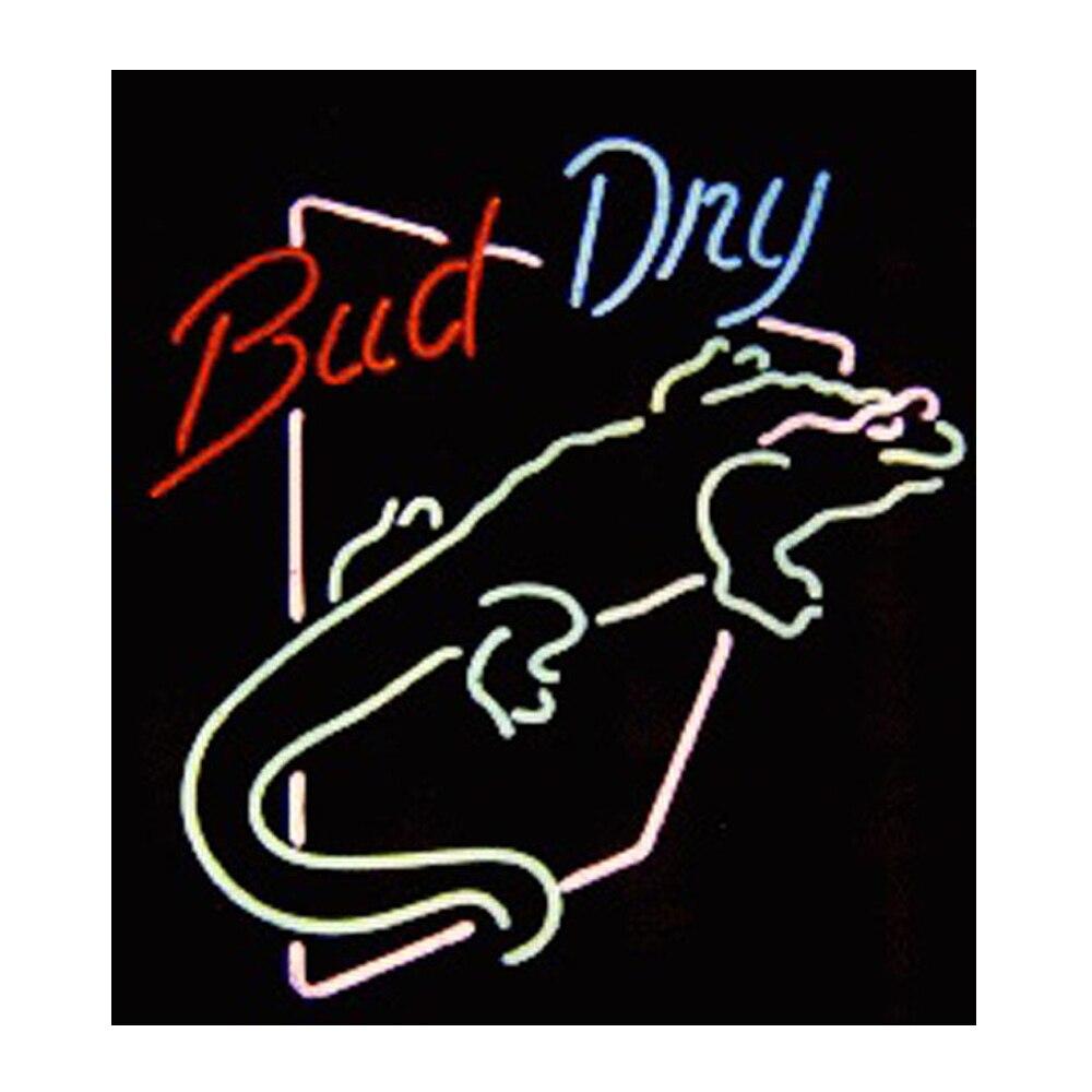 برعم الجافة سحلية Lguana مخصص اليدوية أنبوب زجاجي حقيقي البيرة بار موتيل الإعلان ديكور المنزل عرض تسجيل ضوء النيون 15