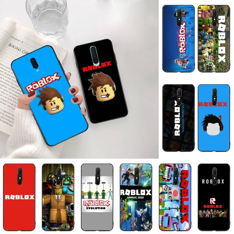 YJZFDYRM juego Roblox foto personalizada suave teléfono caso para Oppo A5 A9 2020 Reno2 z Renoace 3pro Realme5Pro