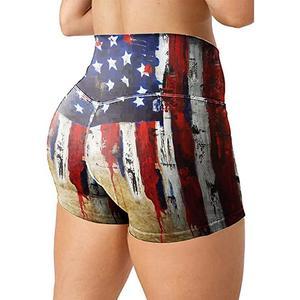 Sports Shorts Women Seamless Push Up Yoga Pants Casual High Waist Booty Fitness Slim Shorts Tummy Control Workout Gym Shorts