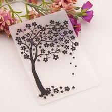 KLJUYP Trees Plastic Embossing Folders for DIY Scrapbooking Paper Craft/Card Making Decoration Supplies 02236