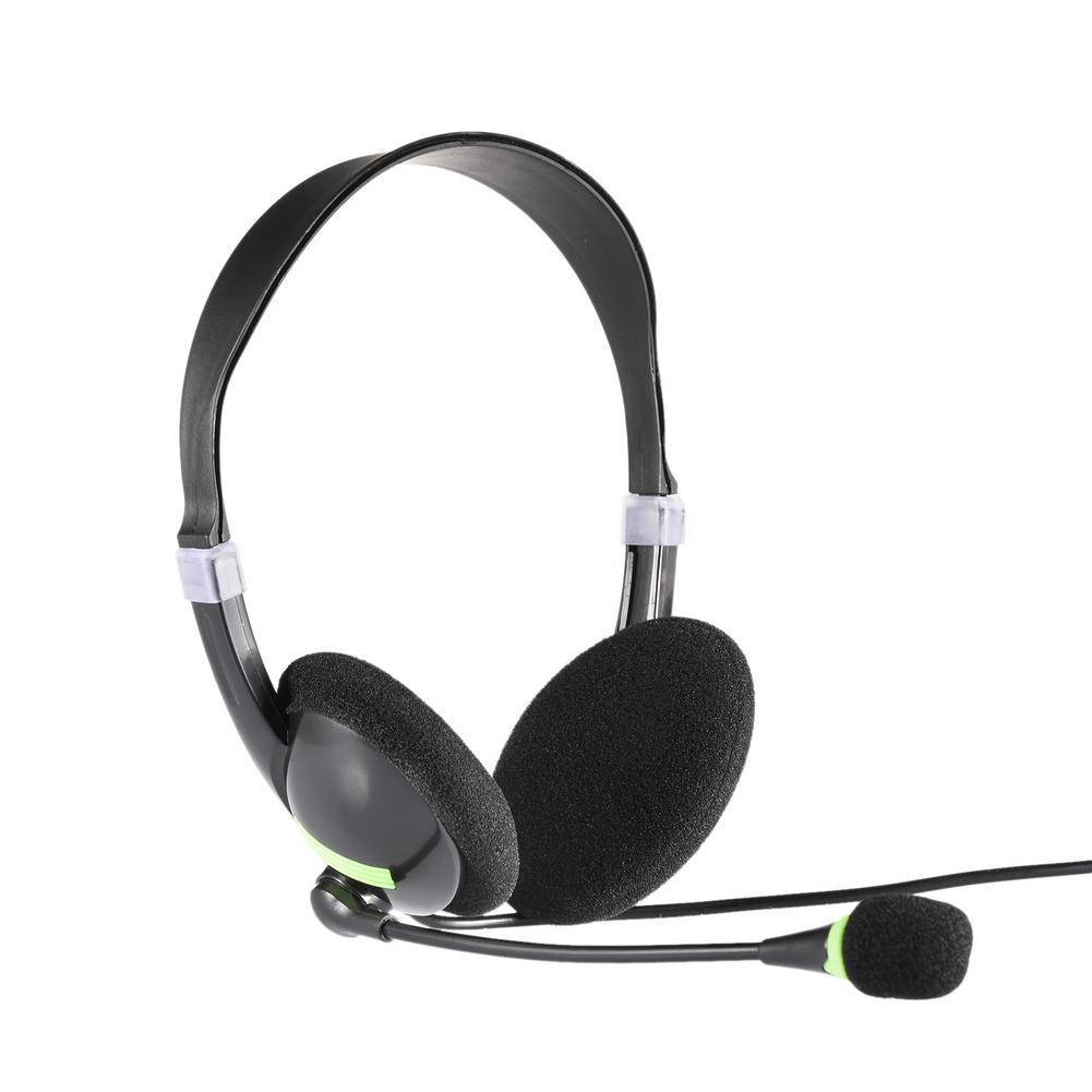 Call Center USB Wired Headset With Microphone Telephone Operator Headphone Noise Canceling For Computer Phones Desktop Boxes